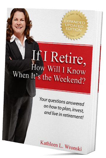 Book: If I retire, how will I know when it's the weekend?